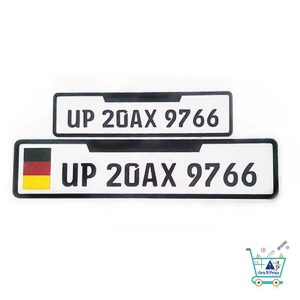 Number Plate Ideas Online in India
