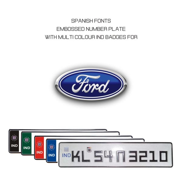 Ford Number Plate Online