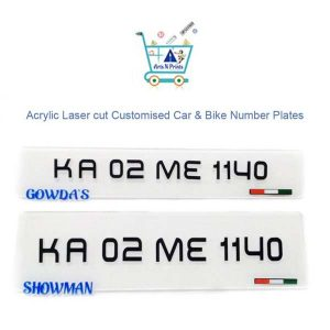 Number Plate Personalized Name,-logo