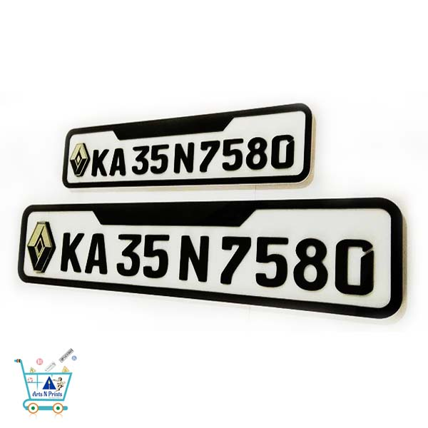 numberplates-renault-design-4 wheeler-suv