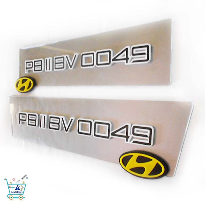 Hyundai Car Number Plates Price Custom Online